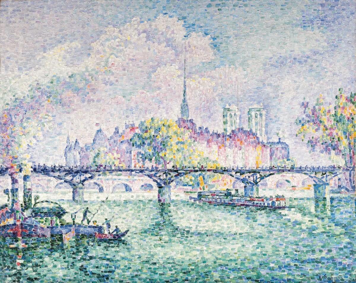 Поль Синьяк. Мост Искусств. 1925