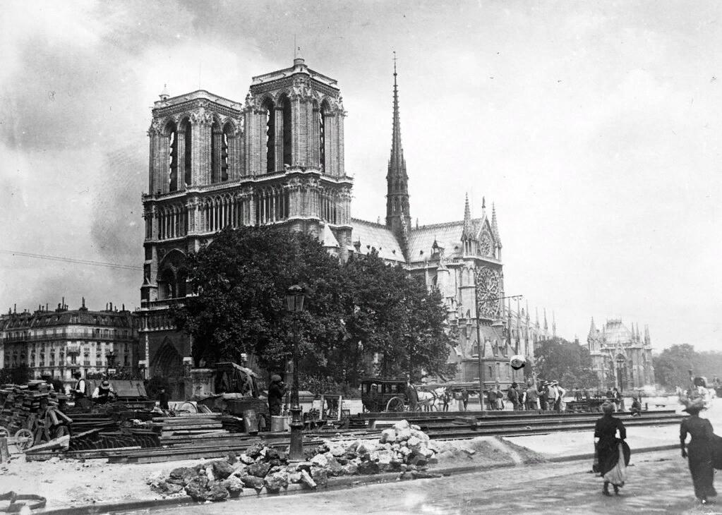 Нотр-Дам де Пари. ок. 1915