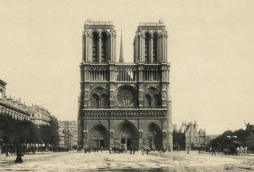 Нотр-Дам де Пари. ок. 1900