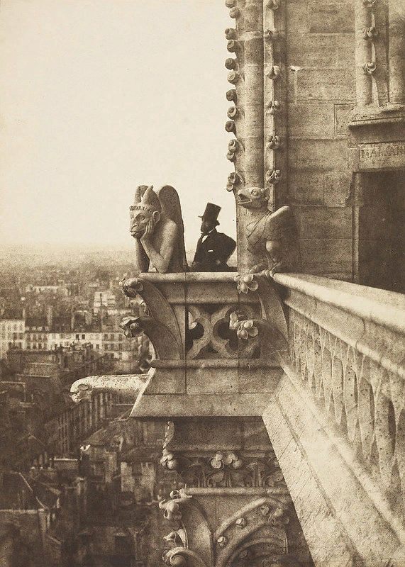 Шарль Негре. Химера Стрикс. фотография 1853