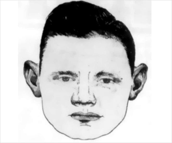 Полицейский фоторобот предполагаемого Джека-Чистильщика