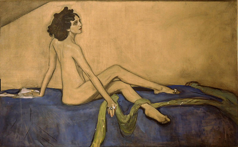В.Серов. Портрет Иды Рубинштейн. 1910