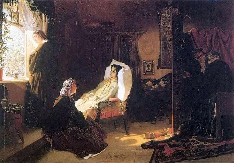 М.Клодт. Последняя весна. 1861