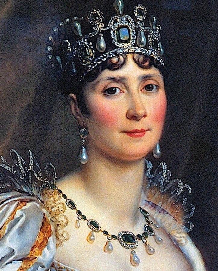 Франсуа Жерард. Портрет Жозефины Богарне. 1806. Фрагмент.