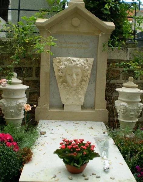 Надгробие могилы Мари Дюплесси