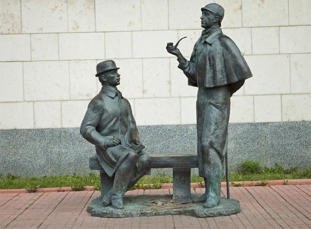 Шерлок Холмс и доктор Ватсон. Москва