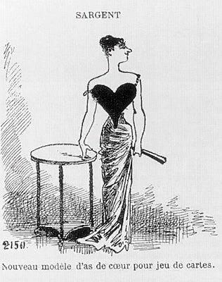 Новая модель туза червей. Le Charivari, May 1, 1884