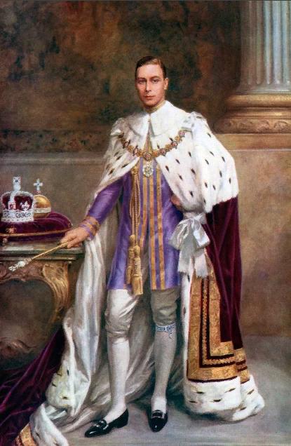 Эдуард VIII в коронационном платье, которое он никогда не одевал