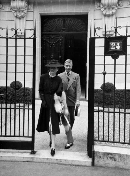 Герцог и герцогиня Виндзорские в Париже