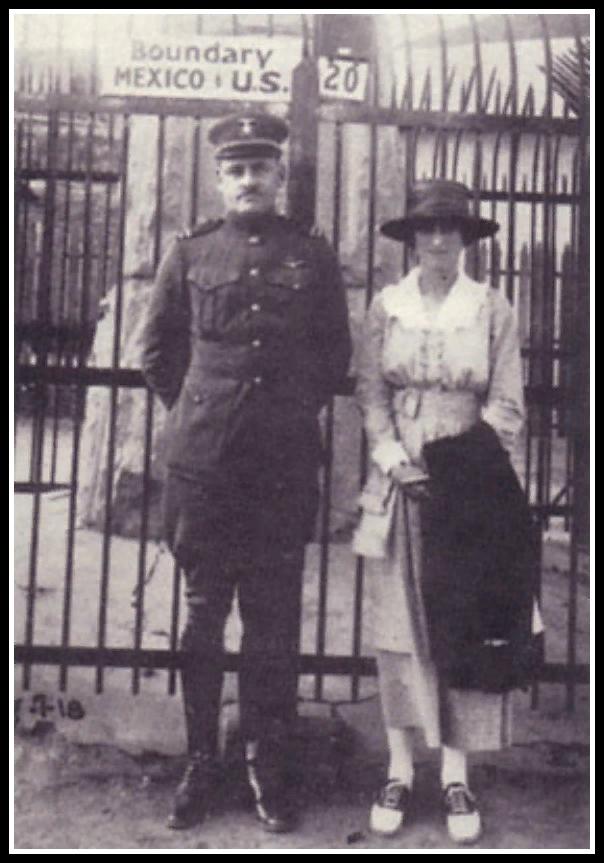 Уоллис с У.Спенсером. 1917