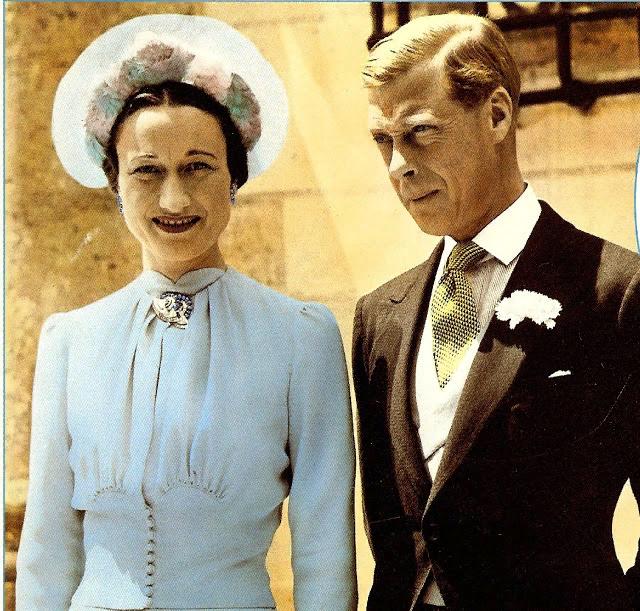 Уоллис и Эдуард. 1937