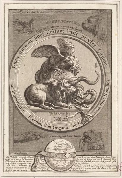 Omne animal post Coitum triste praeter Gallum. Французская сатира, ок. 1779