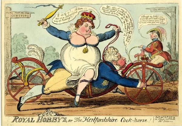 Английская карикатура. 1818