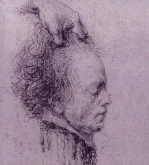 Доминик Виван-Денон. Голова Робеспьера.