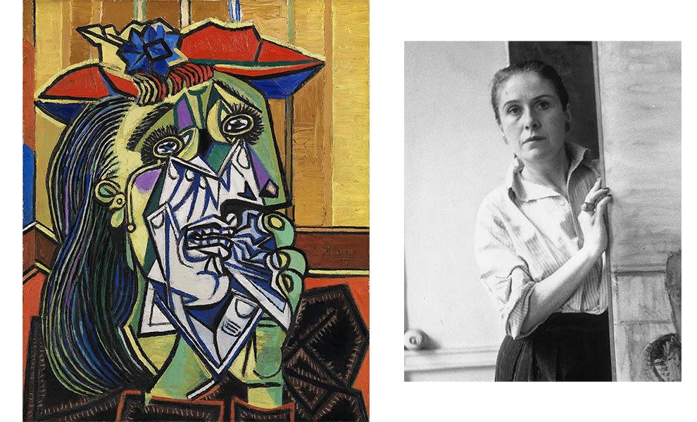 Пабло Пикассо, «Плачущая женщина (Дора Маар)», 1937; Дора Маар