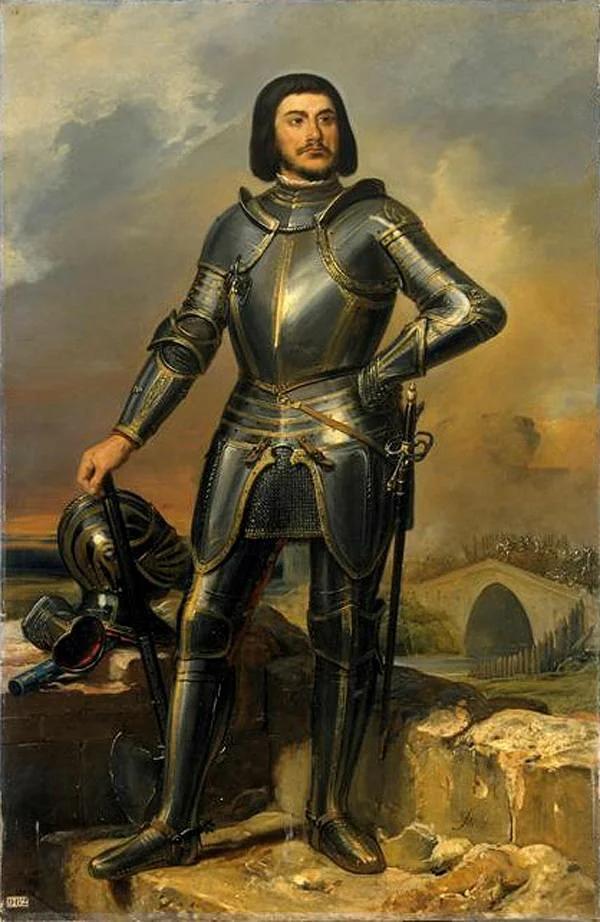 Элио-Фирмин Ферон. Портрет Ж. де Ре. 1835
