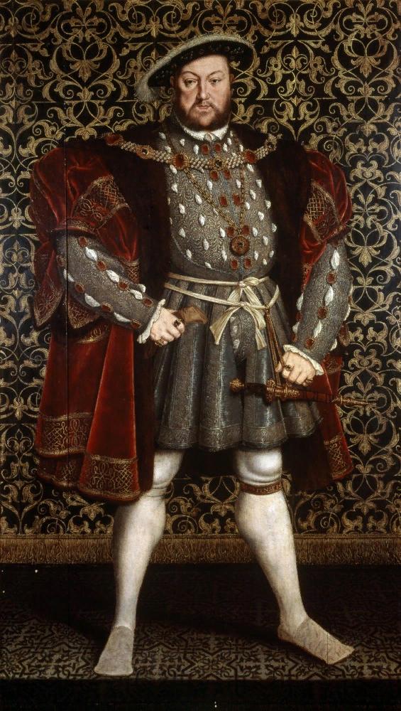 Ганс Голбейн. Портрет Генриха VIII