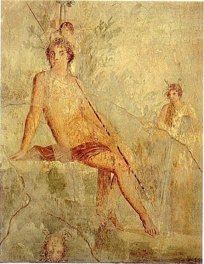Нарцисс и Эрот.