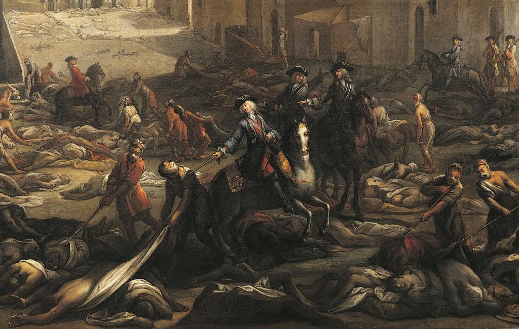 Чума в Лондоне. 1665.