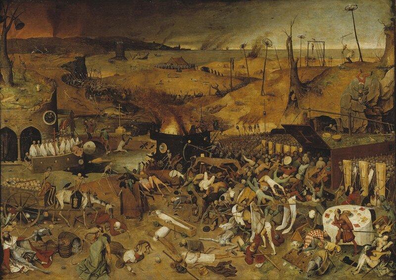 Питер Брейгель Старший. Триумф смерти, 1562.