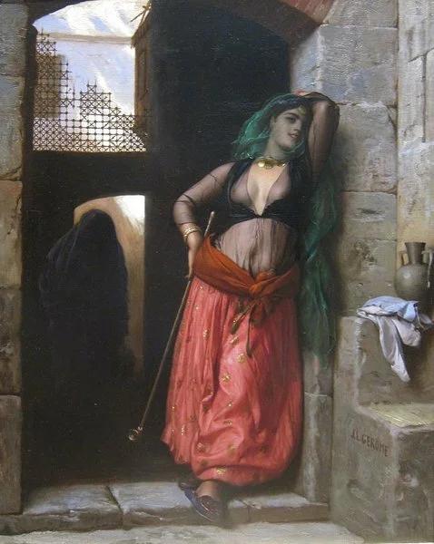 Жан-Луи Жером. Алмея. 1873.