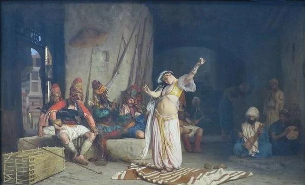 Жан-Луи Жером. Танец алмеи. 1863.