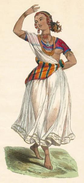 Г.Хендрик. Баядера-дэвадаси. 1845.