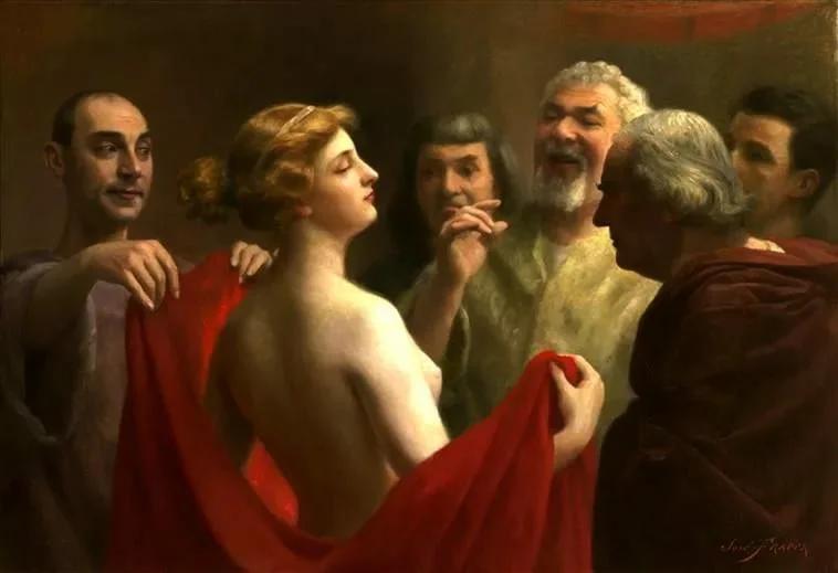 Ж.Фраппа. Фрина. 1904.