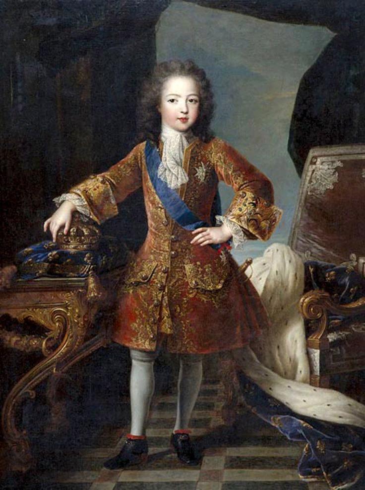 Пьер Гобер. Портрет короля Людовика XV в детстве. ок. 1715