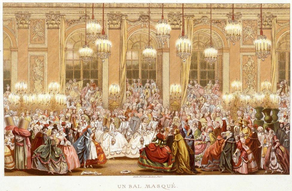 Бал-маскарад в Версале