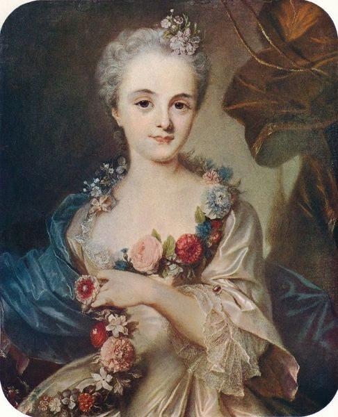 Розальба Каррьера. Пастельный портрет мадам де Помпадур