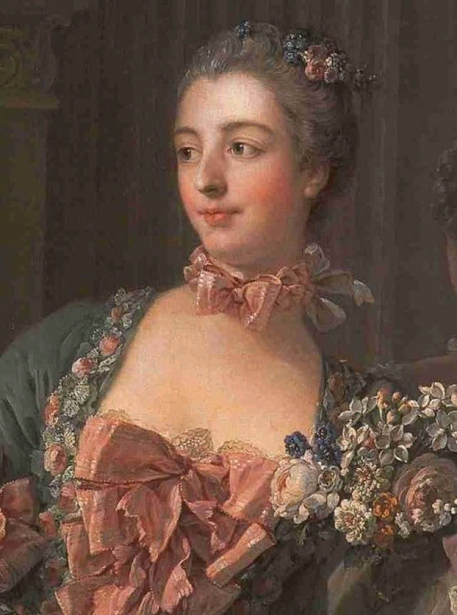 Франсуа Буше. Портрет маркизы де Помпадур. 1758