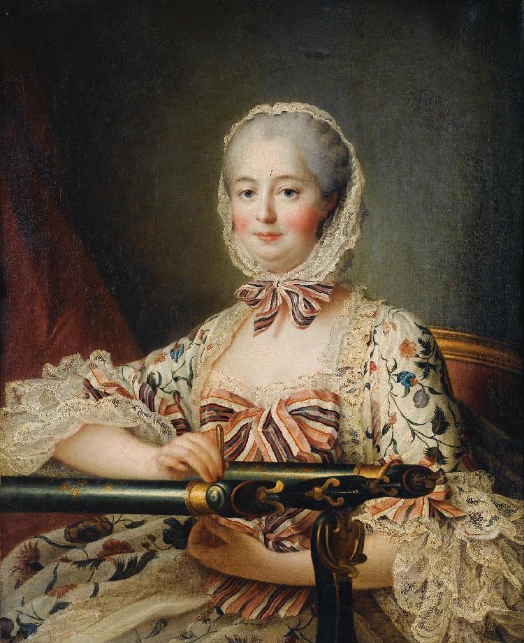 Франсуа Друэ. Портрет маркизы де Помпадур