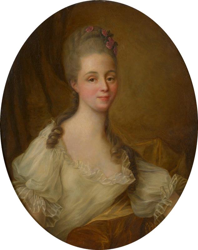 Неизвестный художник. Портрет мадмуазель Анны Куппье де Романс