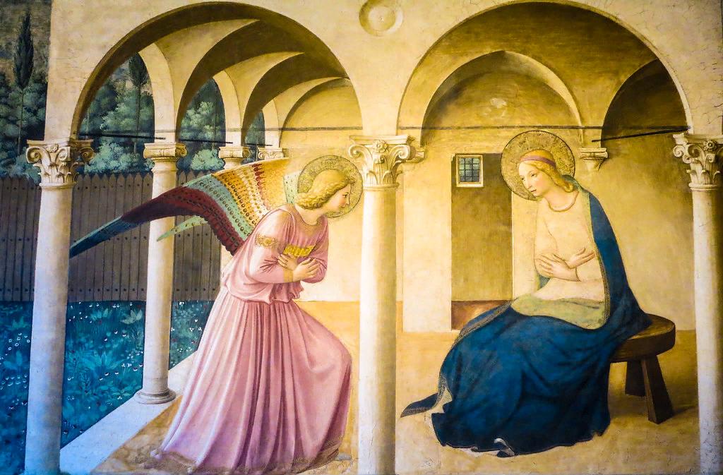 Фра Беато Анджелико. Благовещение. ок. 1450