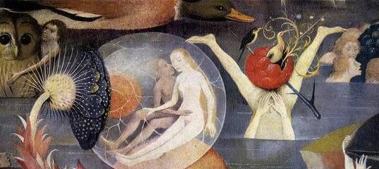 Иеронимус Босх. Сад земных наслаждений (фрагмент)