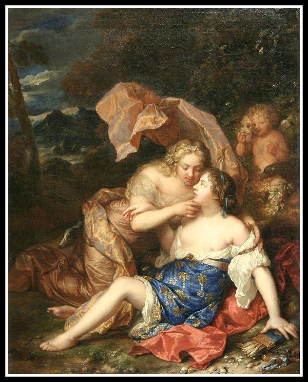 Ф.Буше. Юпитер (Зевс) и Каллисто