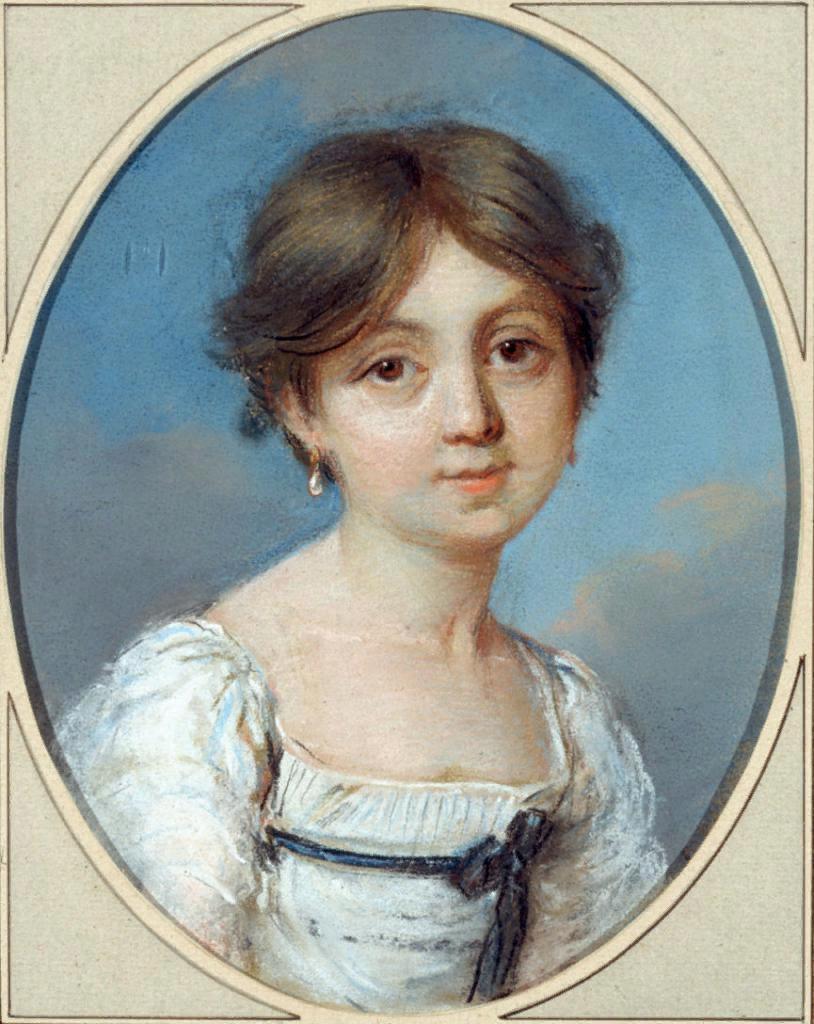 Аврора Дюпен в детстве