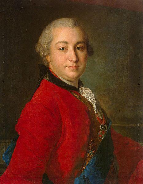 Ф.Рокотов. Портрет И.И.Шувалова. Конец 1750-ых.