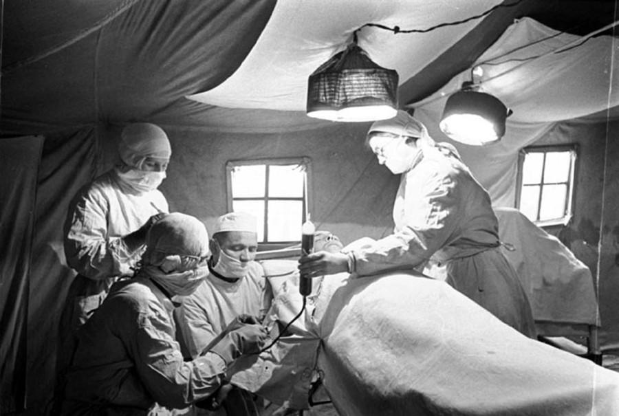 военно-полевая хирургия
