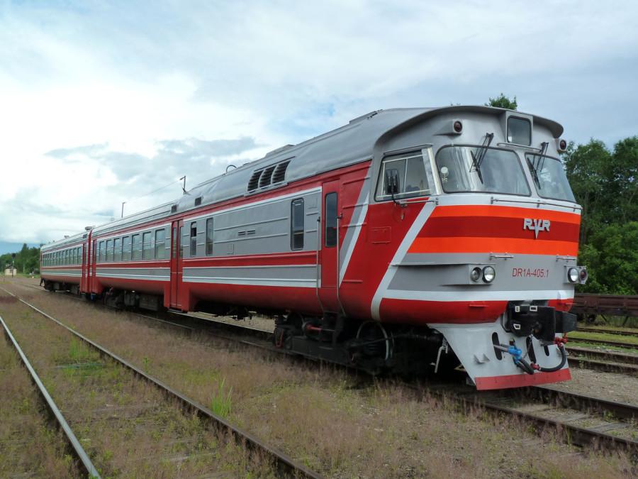 Дизель - поезд ДТ1