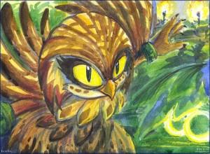 Eze the Owl - by Liris - 2016.jpg