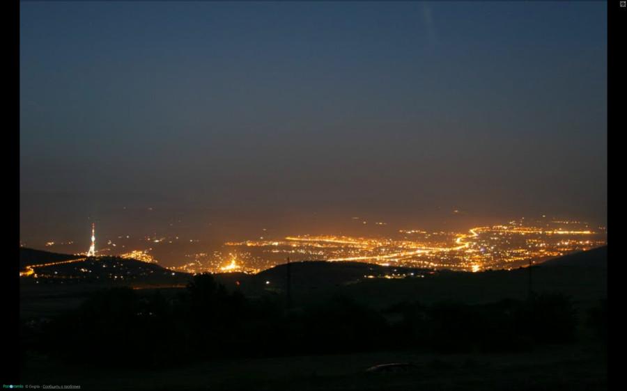 Вид ра Тбилиси с территории BIOLI