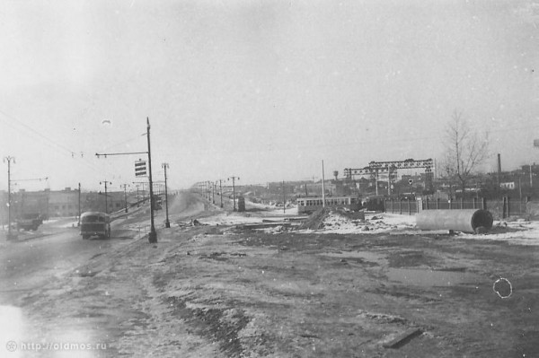 Автозаводский мост 1962 г.