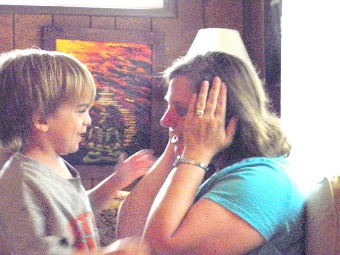 Daniel and Mommy Kristen