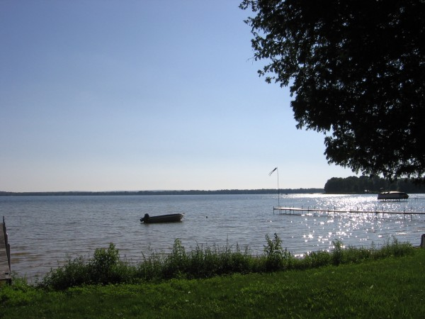 Lake D - boat
