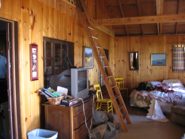 Lake D - living room