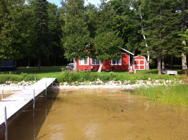 Lake Douglas - our cabin