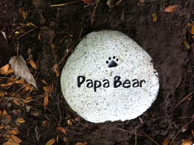 Papa Bear Grave