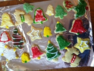 Cookies by me and mom - 2012-01-sideways